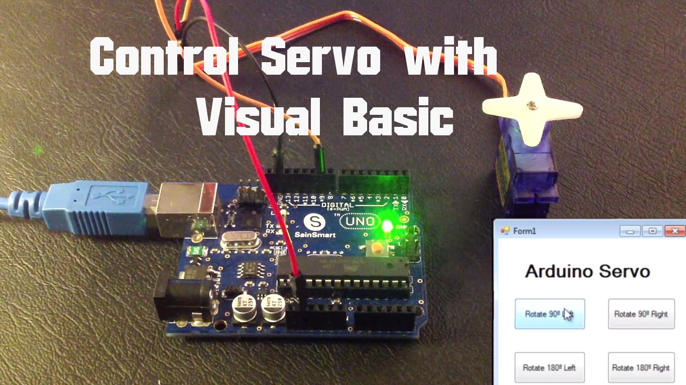 Arduino Control Servo With Visual Basic Random Nerd Tutorials Usb Controller Member Robot