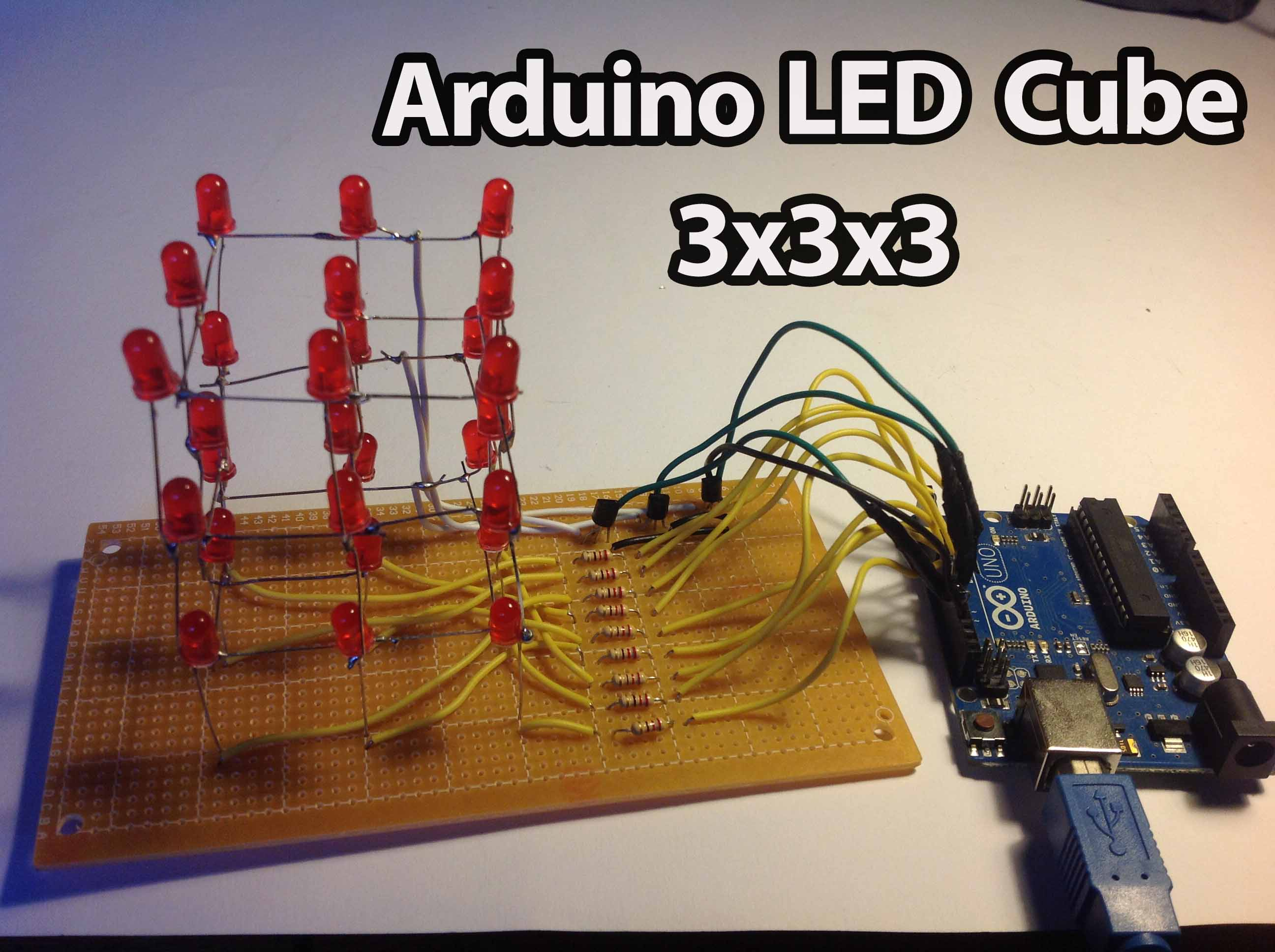 Arduino Led Cube 3x3x3 Random Nerd Tutorials To Build A Simple Circuit Safely Connect An Ir The
