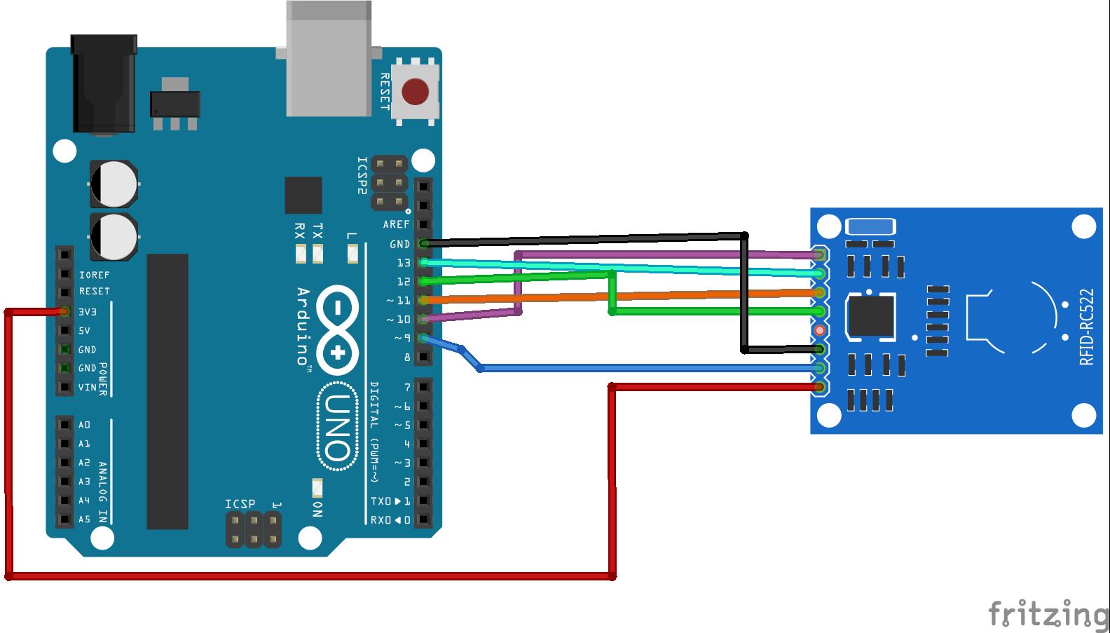 Mfrc522 Rfid Reader With Arduino Tutorial Random Nerd