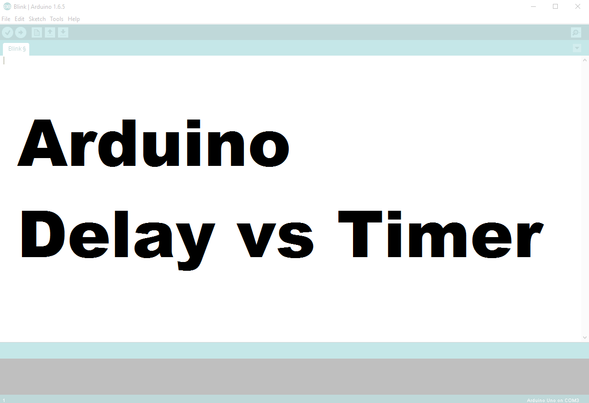 Why You Shouldn T Always Use The Arduino Delay Function