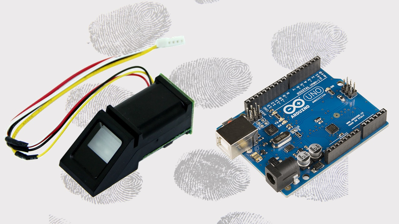 Fingerprint Sensor Module With Arduino Random Nerd Tutorials To Make The Electrical Connections In Circuit We