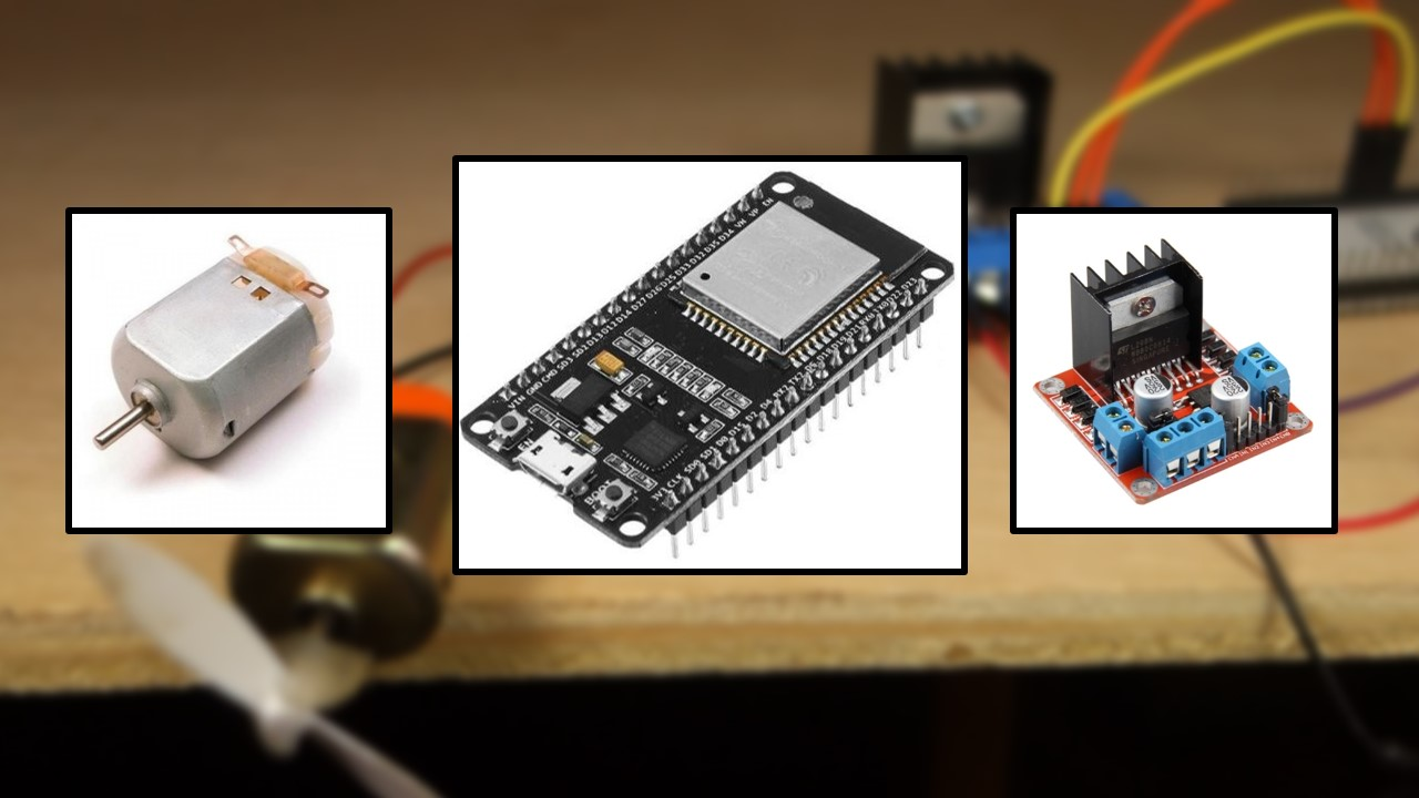 Build A Car From Scratch >> ESP32 with DC Motor - Control Speed and Direction | Random ...