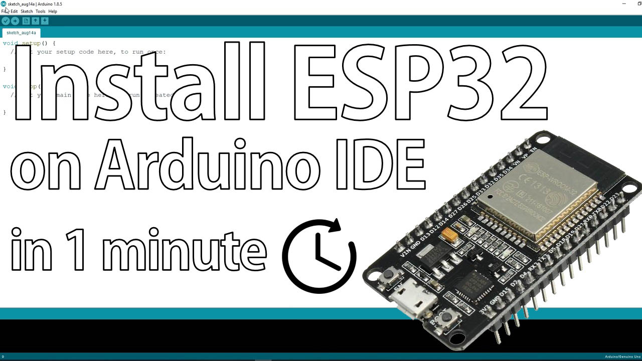 Installing Esp32 In Arduino Ide Windows Random Nerd Tutorials 10segment Led Kit Landing Page Sparkfun Electronics